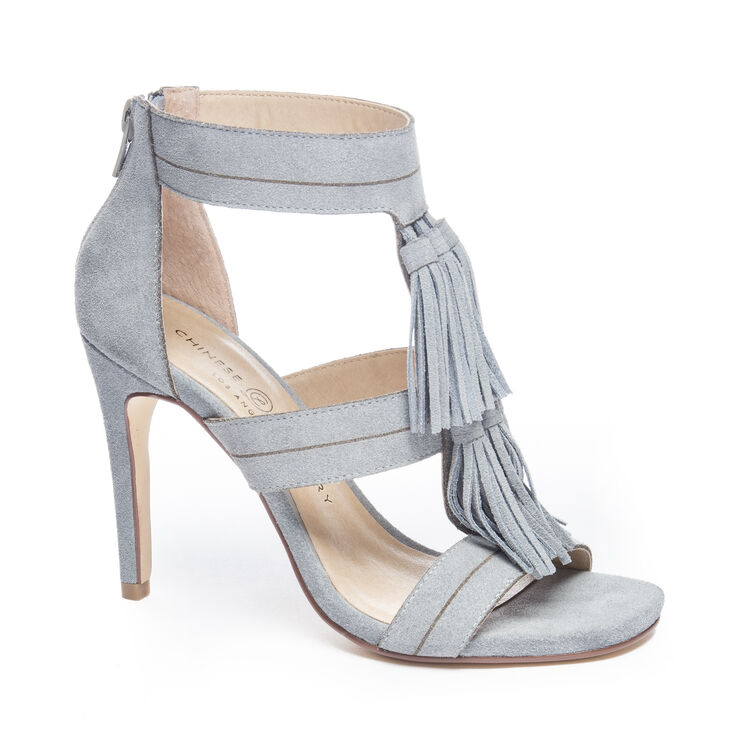 Chinese Laundry Speak Easy Dress Sandals in Chambray