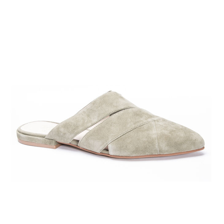 Chinese Laundry Carra Mule Flats in Highlandgreen
