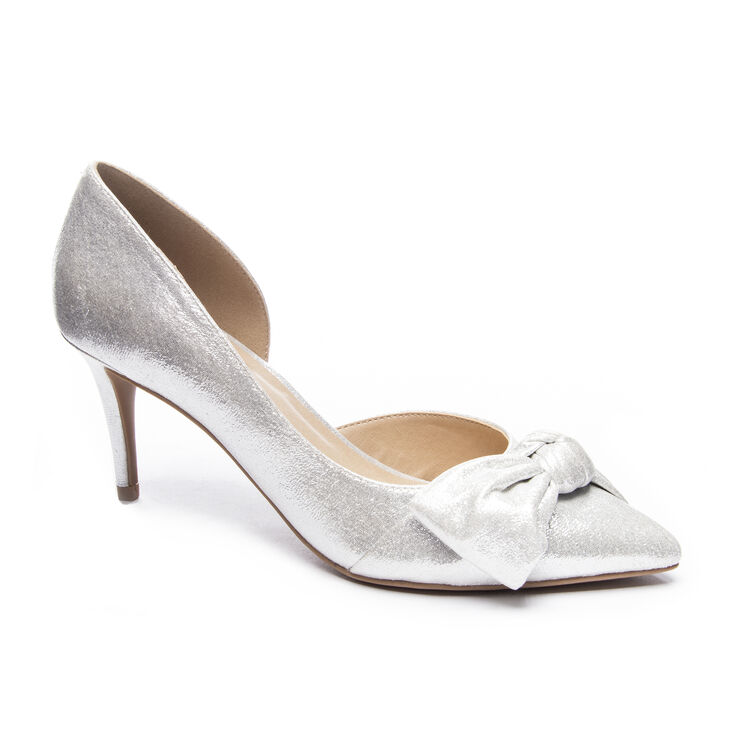 Chinese Laundry Olga Pumps in Silver