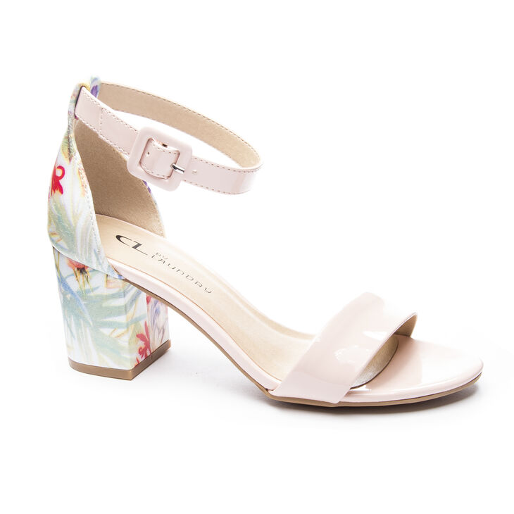 Chinese Laundry Jody Dress Sandals in Soft Pink/blue