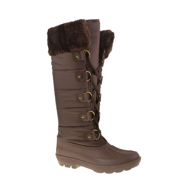Chinese Laundry Big Chill Boots in Dark Brown
