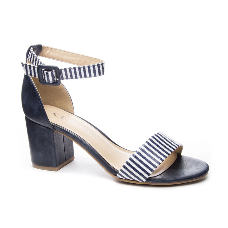Chinese Laundry All In Dress Sandals in Navyindigo