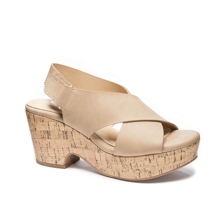 CL by Laundry Chosen Wedges in Nude
