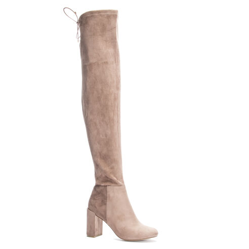 fb2ab56c650 King Suedette Over The Knee Boot MINK