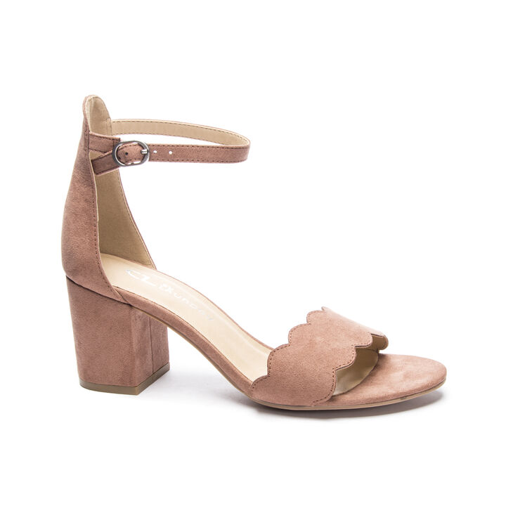Chinese Laundry Jayne Dress Sandals in Deep Rose