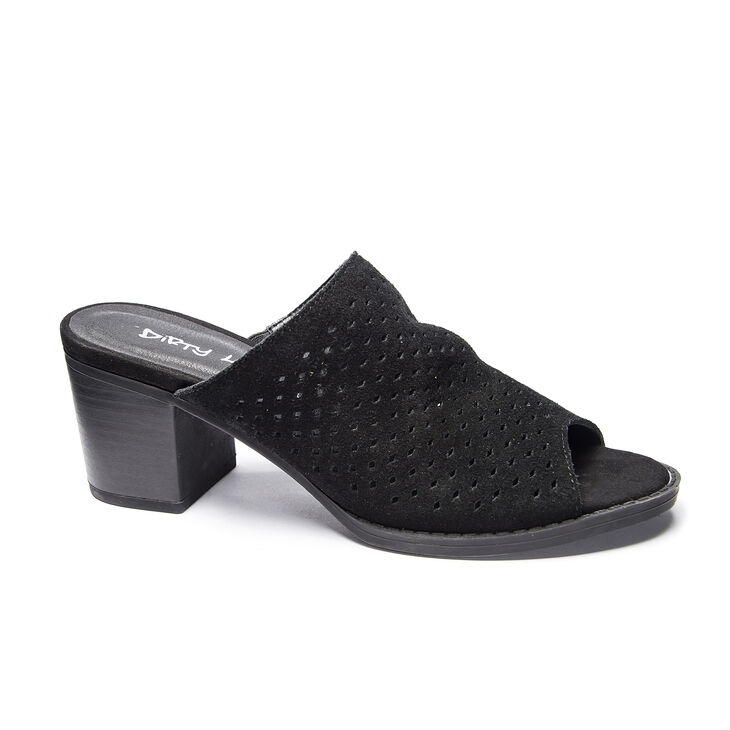 Chinese Laundry Take All Slide Heels in Black