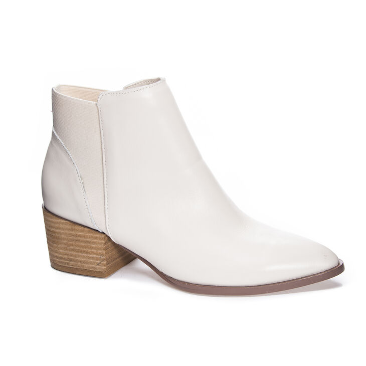 Chinese Laundry Finn Boots in Ecru