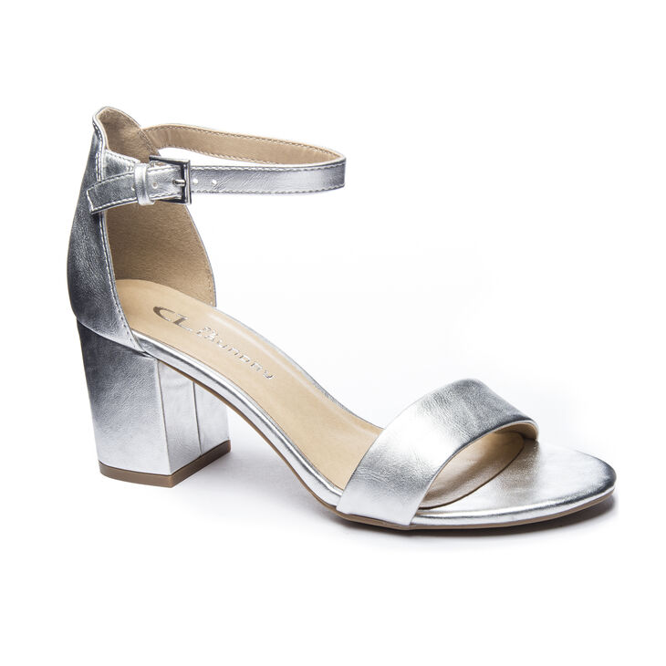 Chinese Laundry Jessie Dress Sandals in Silver