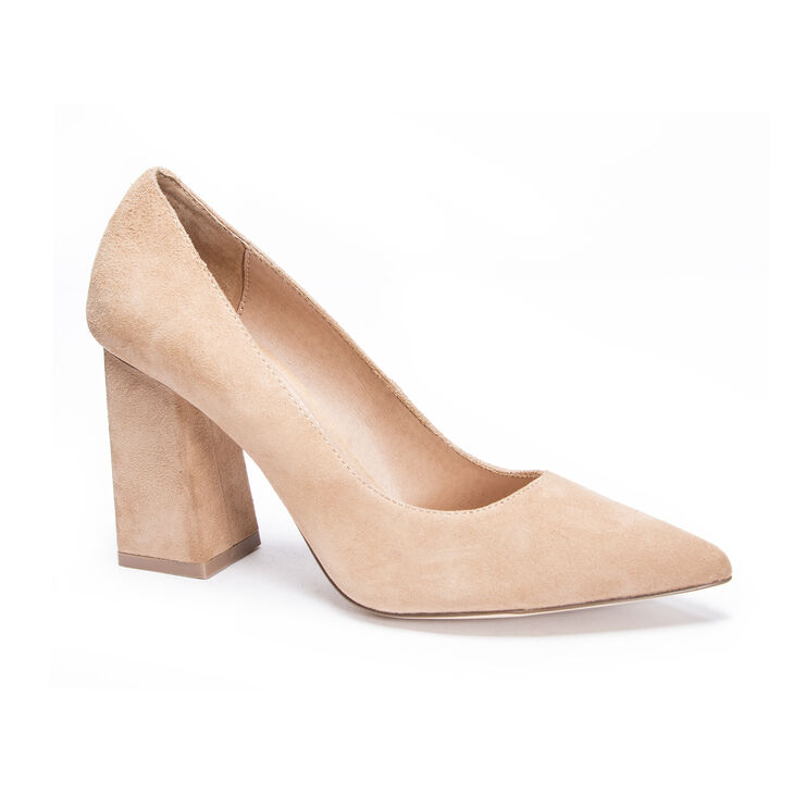Chinese Laundry Kyra Pumps in Tan