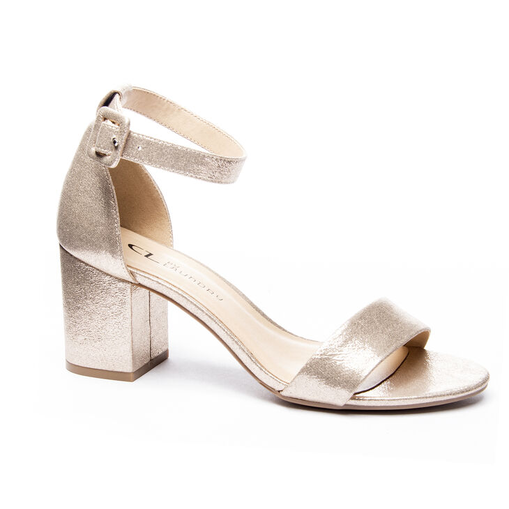Chinese Laundry Jody Dress Sandals in Light Gold