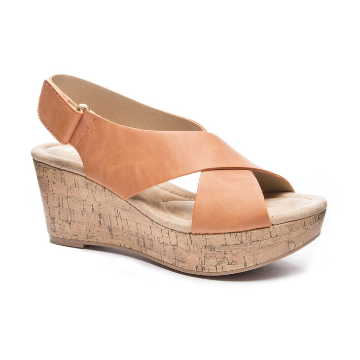 CL by Laundry Dream Girl Sandals in Clay
