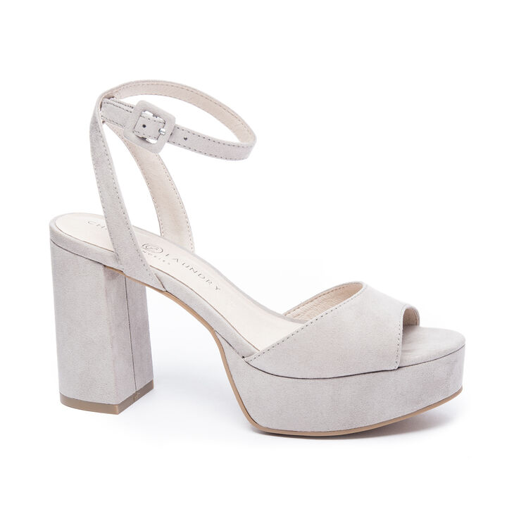 Chinese Laundry Theresa Sandals in Smoke Grey