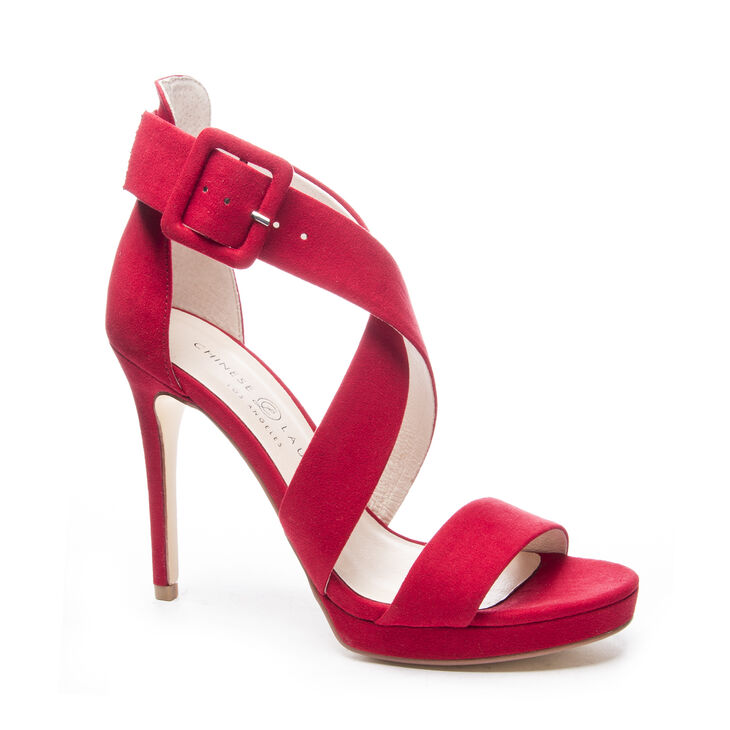Chinese Laundry Foxie Pumps in Lollipop Red