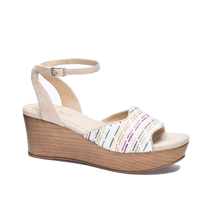 CL by Laundry Charlise Sandals in Naturalmulti