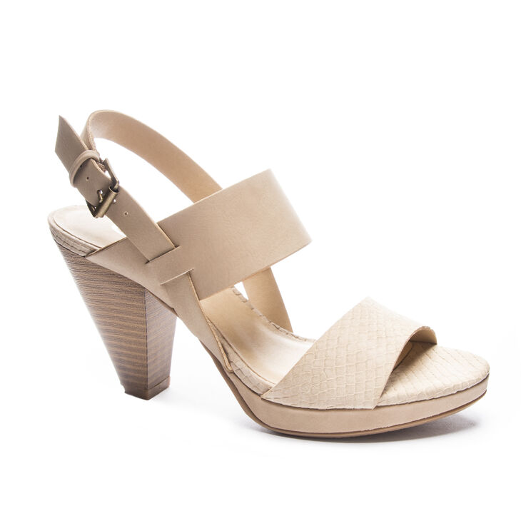 Chinese Laundry Worthy Sandals in Nude