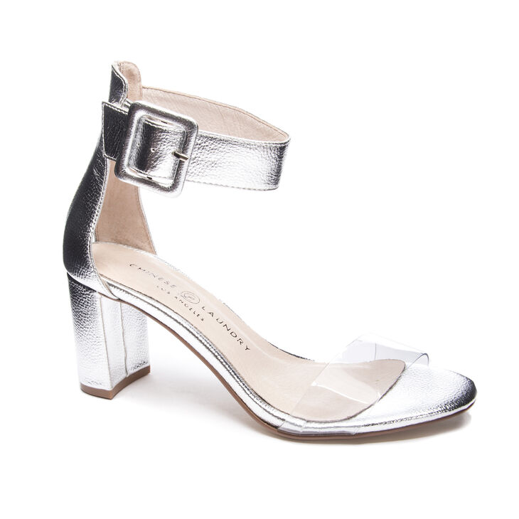 Chinese Laundry Reggie Sandals in Silver