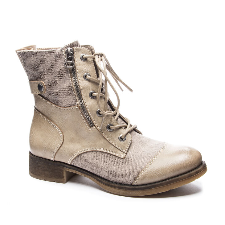 Chinese Laundry Tilley Boots in Taupe