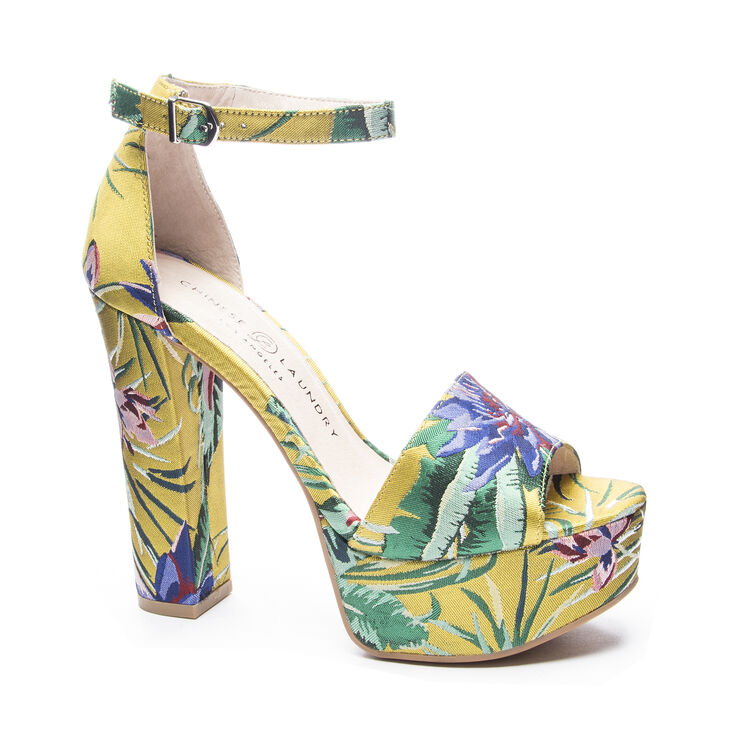 Chinese Laundry Avenue 2 Sandals in Yellow