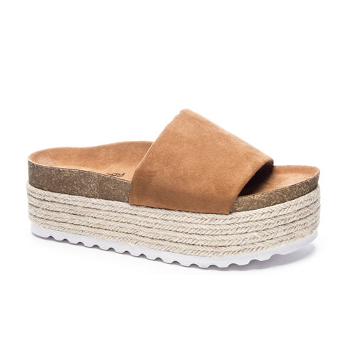 745be5c013d3 Pippa Micro Suede Slide Sandal WHISKEY