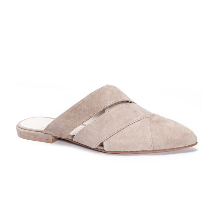 Chinese Laundry Carra Mule Flats in Silvertaupe
