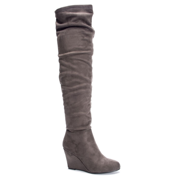 Chinese Laundry Uma Boots in Charcoal