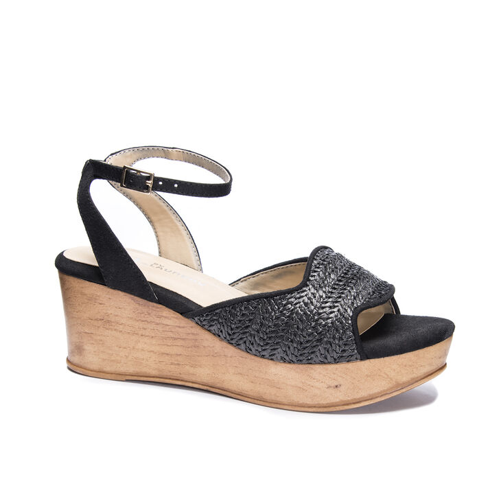 CL by Laundry Charlise Sandals in Black