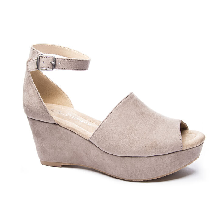 Chinese Laundry Dara Sandals in Pebble Taupe