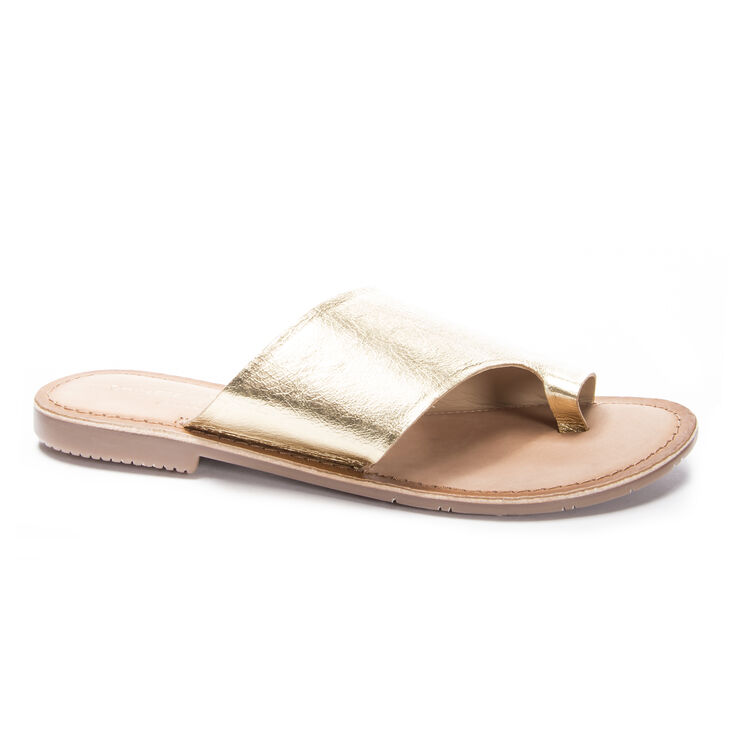 Chinese Laundry Gemmy Sandals in Gold