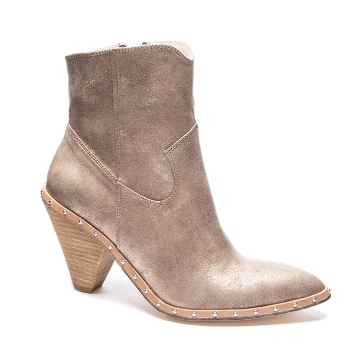 Chinese Laundry Ramble Boots in Champagne