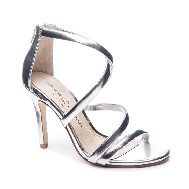 Chinese Laundry Jillian Sandals in Silver