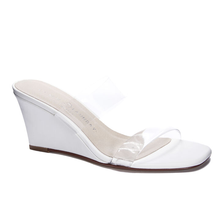 Chinese Laundry Tann Wedges in White
