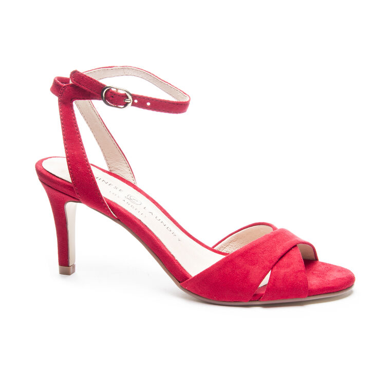 Chinese Laundry Rosita Sandals in Lollipop Red