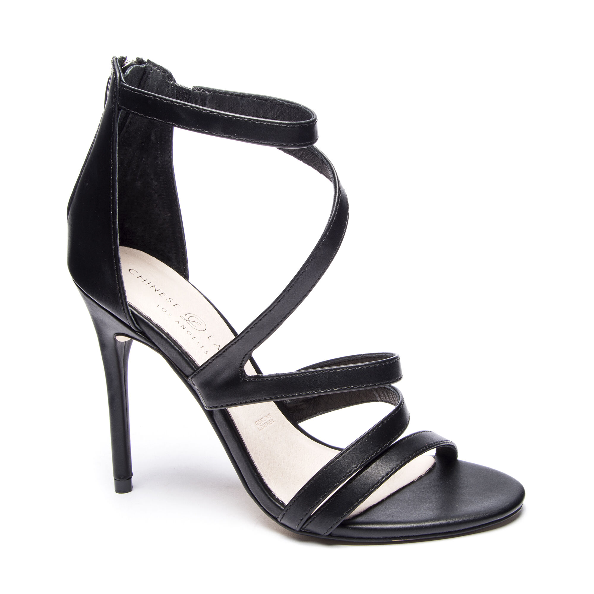 dd55f26cd5 Lalli Strappy Stiletto Heeled Leather Sandals
