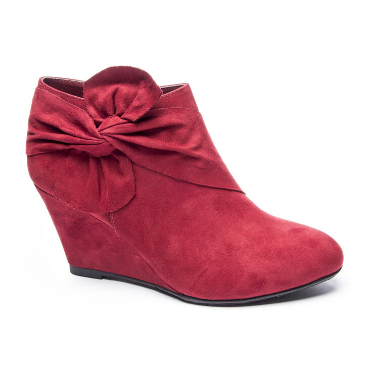 Chinese Laundry Vivid Boots in Cherry Red