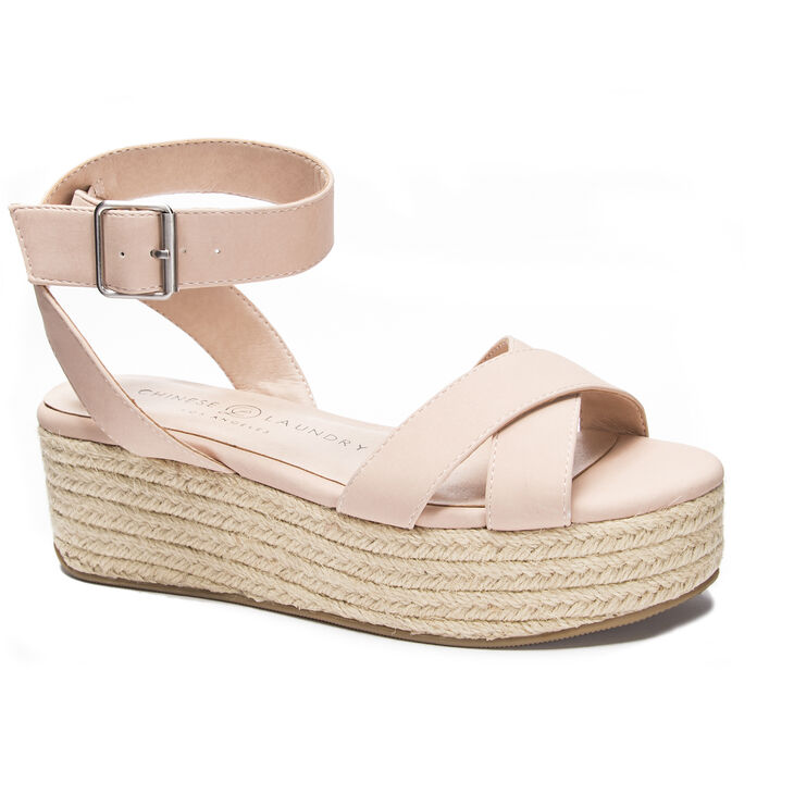 Chinese Laundry Zala Sandals in Nude