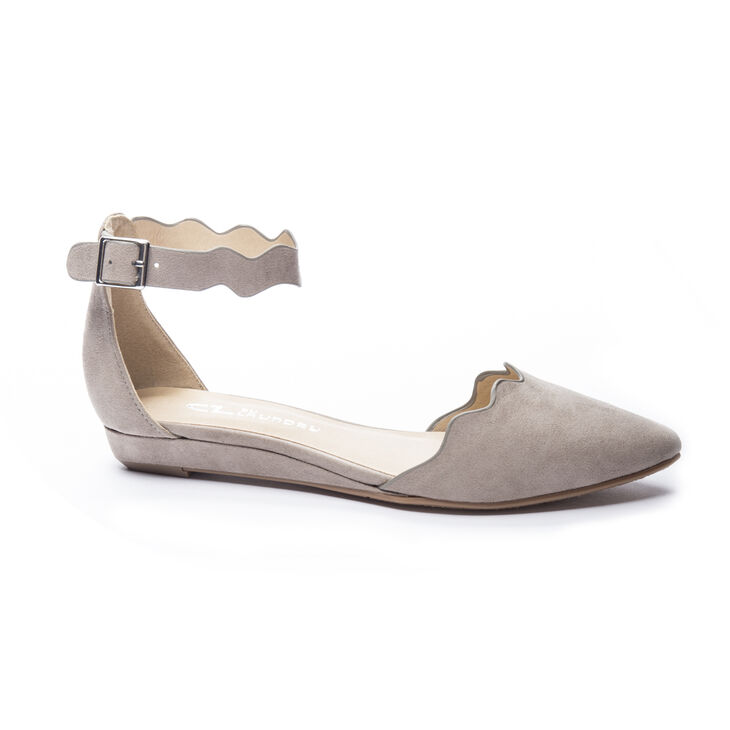 Chinese Laundry Studio Flat Sandals in Dark Taupe