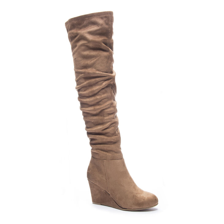 Chinese Laundry Ultra Boots in Camel