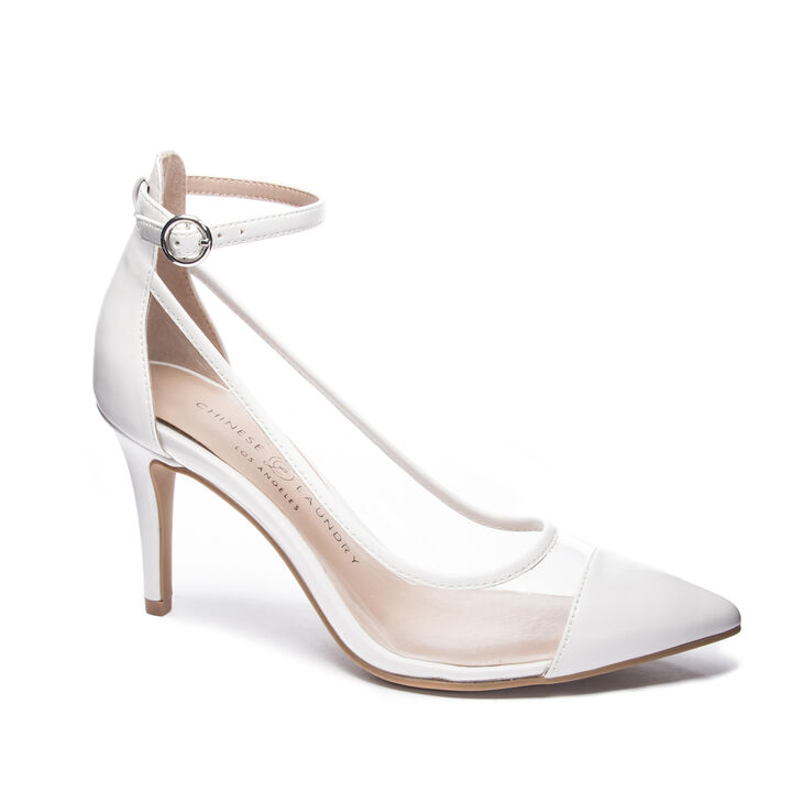 Chinese Laundry Gabrianna Pumps in Clearbone