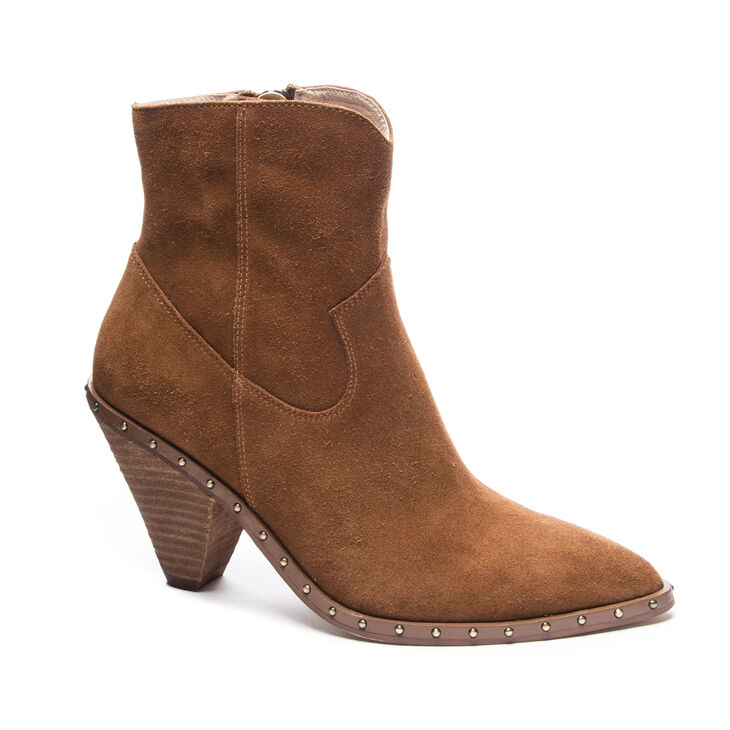 Chinese Laundry Ramble Boots in Rusty Brown