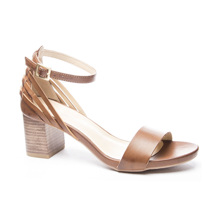 Chinese Laundry Joy Dress Sandals in Rich Brown