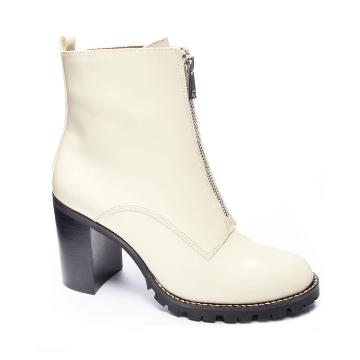 Chinese Laundry Jargon Boots in Vanilla