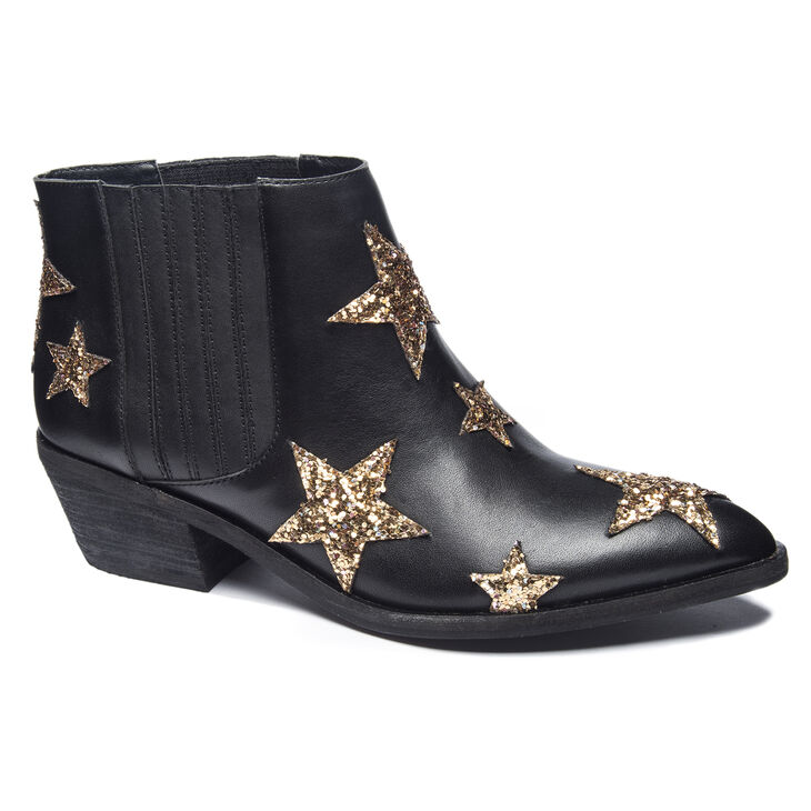 Chinese Laundry Fayme Heeled Booties in Black