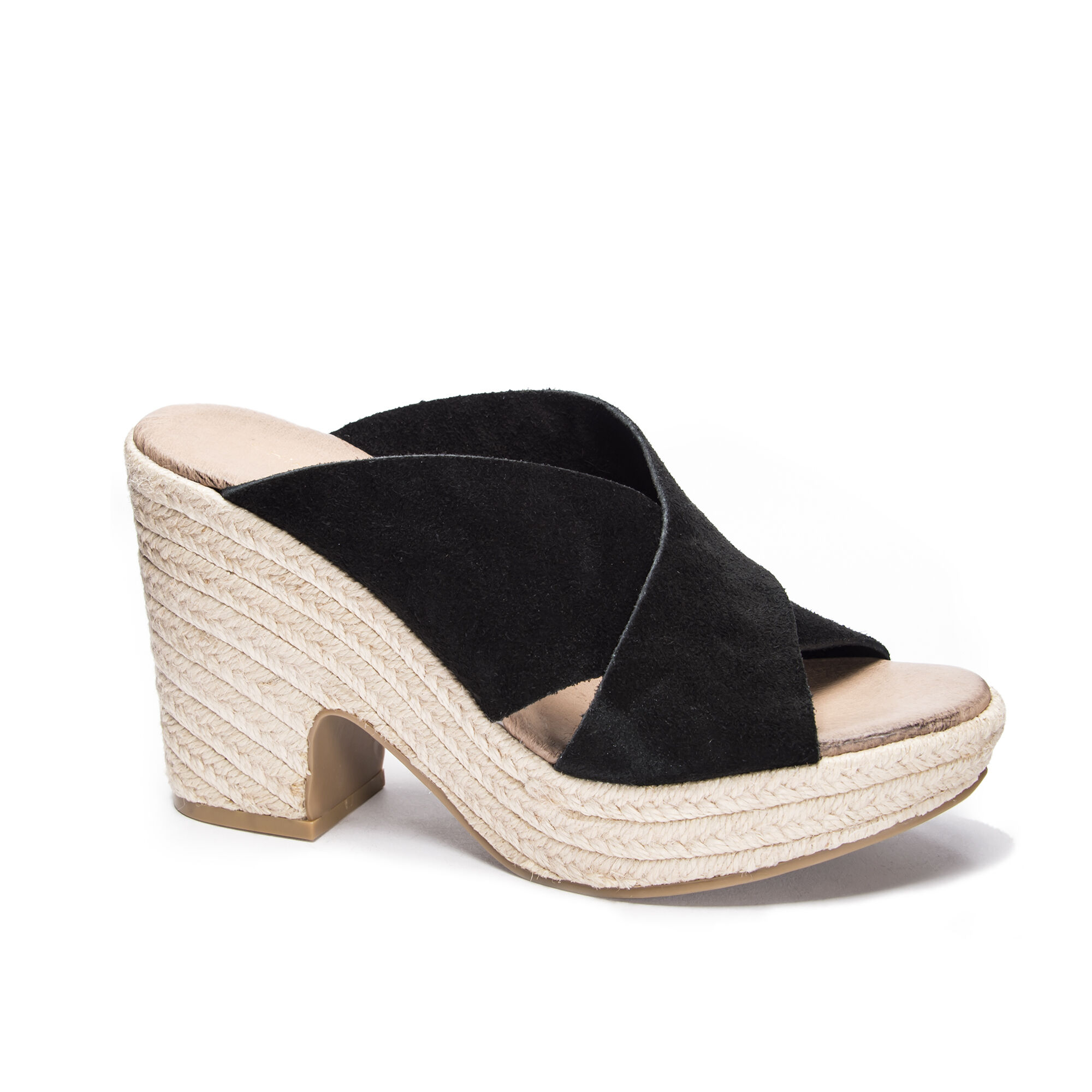 0aaa5e701e Chinese Laundry Quay Split Suede Wedge Sandal | Chinese Laundry