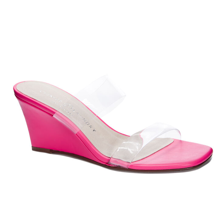 Chinese Laundry Tann Wedges in Poppink