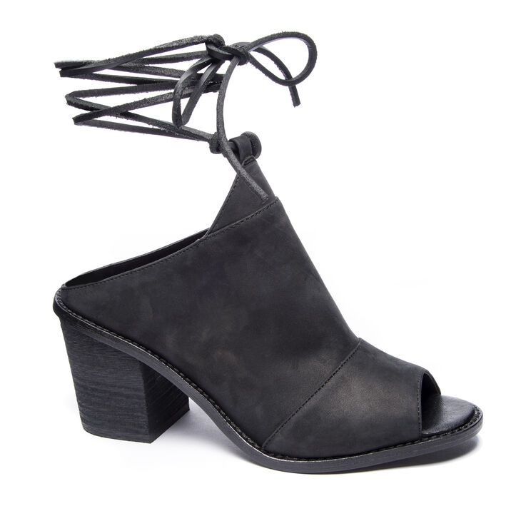 Chinese Laundry Cali Booties Sandals in Black
