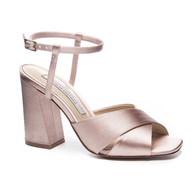 Kristin Cavallari Chinese Laundry Low Light Sandals in Nude