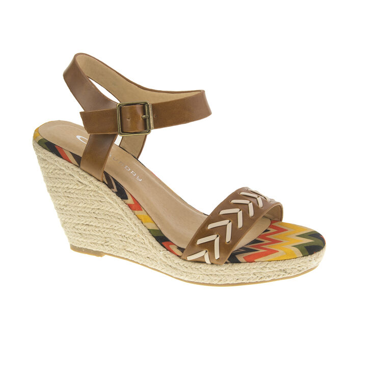 Chinese Laundry Pareo Sandals in Cognac