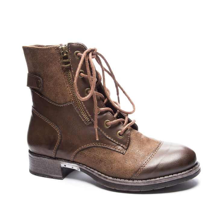 Chinese Laundry Tilley Boots in Cognac