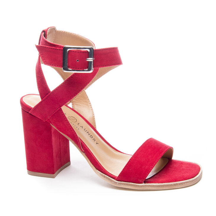 Chinese Laundry Stassi Sandals in Lollipop Red