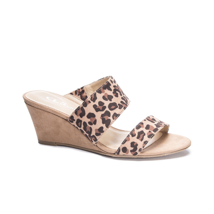 CL by Laundry Thinker Dress Sandals in Natural